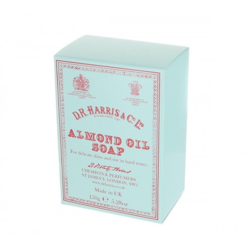 DR Harris Almond Soap Bar. Made in UK.