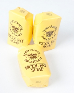 Mitchell's wool fat soap - hand size