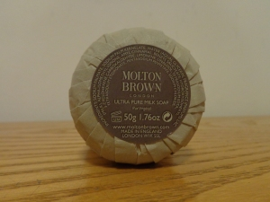 Milton Brown London Ultra Pure Milk Soap. Made in England.