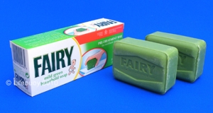 Fairy Household Soap. No longer available in the UK and no longer made in the UK.