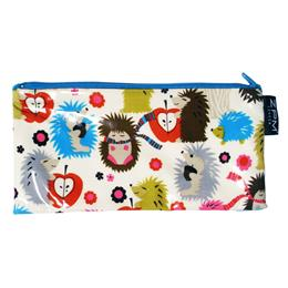 ZPM Holiday-Hedgehog-Long-Zip. Made in Britain.