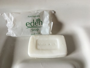 Eden Soap. Made in the UK. Photograph by author.
