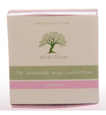 Wild Olive Lavendar Soap. Made in UK.
