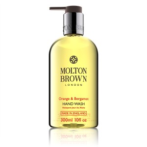 Molton Brown Orange and Bergamot Hand-Wash. Made in England.