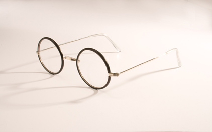Savile Row glasses - WARWICK MODEL OSRC8 (ROUND 'W' BRIDGE NO. 48 H/E) - made in England.