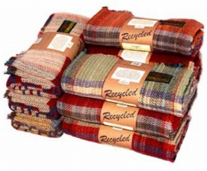 Recycled Wool Rug.