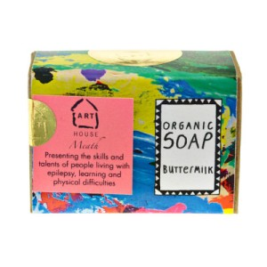 Dusk soap by Arthouse Meath. Made in England.