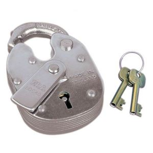 ERA Closed Shackle Padlock - 64mm. Made in England.