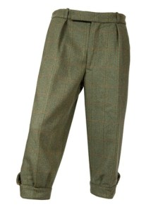 William Evans Lairds Tweed Breeks. Made in England.