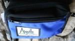 Aiguille Alpine hip belt pouch. Made in England.