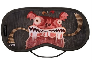 Alberto Cerriteño Chupacabras Eye Mask. Made in England. @ clickforart