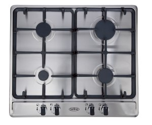 Belling GHU60GC 60cm gas hob with cast iron pan supports. Made in Britain.