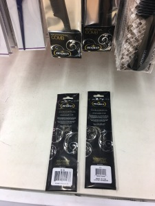 Denman made in the UK combs on display in Tesco Flitwick 1 Feb 2017.
