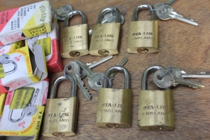 STA-LOK padlocks. Made in England.