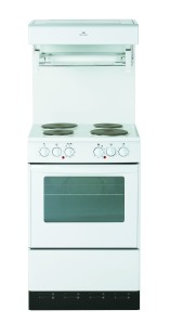 New World NW-50HLGE freestanding cooker. Made in Britain.