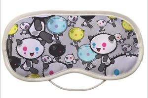 Poked Studio Panda Eye Mask Limited Edition Eye Mask Eye Mask. Made in England @ ClickforArt