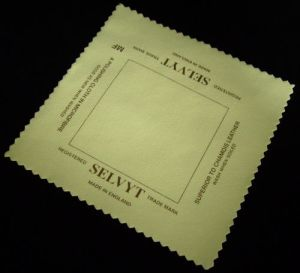 SELVYT MICROFIBRE POLISHING CLOTH MADE IN ENGLAND.