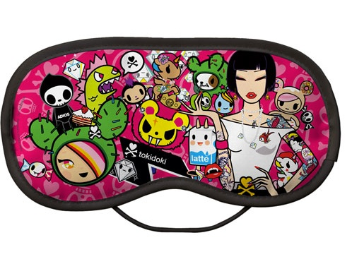 tokidoki tokidoki afterparty eyemask Limited Edition Eye Mask Eye Mask. Made in England @ ClickforArt