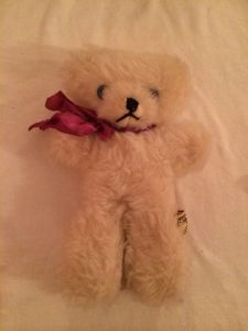 Vintage 1960s Teddy. Dean's Childplay Toys. Bri Nylon. Made In England.