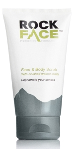 Rockface Face and Body Scrub. Made in the UK.