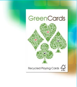 Redwood Green Cards recycled playing cards