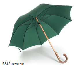 Fox RS13 solid stick umbrella. Made in England