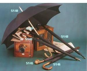Some solid umbrellas from Peerless of London Umbrellas. Made in England.