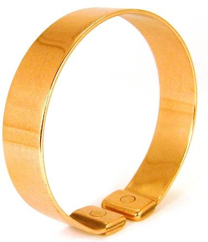 Laurence Butler M80 magnetic plain mens band bracelet. Made in England (Cornwall).