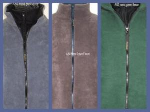 The Farfiled Mens Fleece Jackets are fully lined with zipped outer (and optional zipped inner) pockets. Made in England.