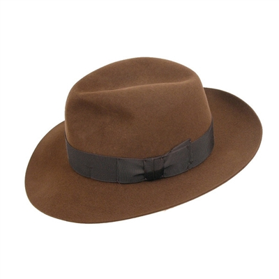 The Indiana Jones type Fedora, the Christys' Adventurer hat. Made in England.