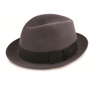 Christys' Kent trilby. Made in England.