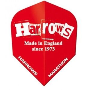 Harrows Darts flight. Made in England.