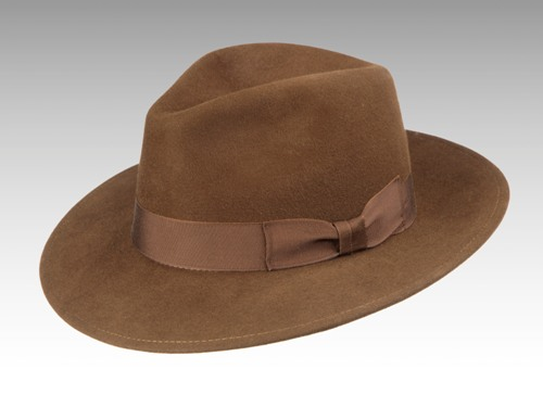 Patey Hats Safari fedora hat. Made in England.