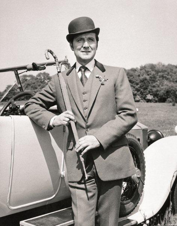 Patrick MacNee as John-Steed in the 1960s