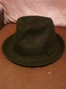 A vintage ladies Lock & Co hat, made in England. View 1