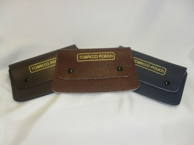 Heritage Leathergoods 100% GENUINE LEATHER Tobacco Pouches. MADE IN ENGLAND.
