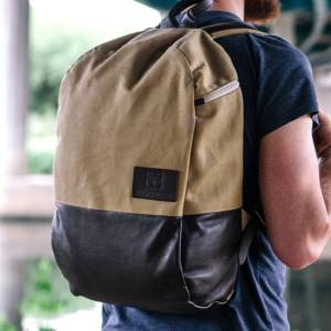 The Hawthorn Original rucksack. Made in London.