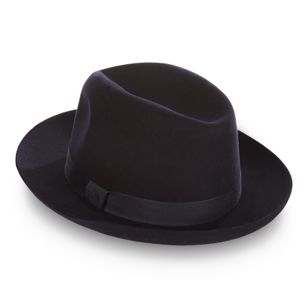 Ede & Ravenscroft HARRY FOLDABLE TRILBY. Made in England.