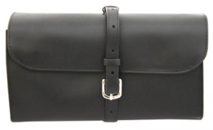 Marlborough World Military Wet Pack in blacl leather. Made in England.