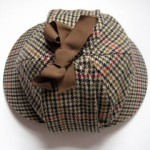 Glencroft 'Sherlock Holmes' deerstalker hat. Made in the UK.