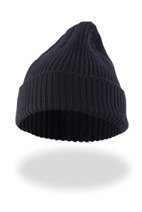 Mountain White Merino Wool Beanie. British made.