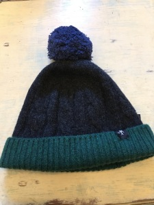 6e2415d5415fbe Rushworth bobble hat. Made in Scotland. Photograph by author 1 October 2018