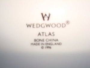 "Modern Wedgwood products made in Staffordshire England will be marked ""Made in England."""