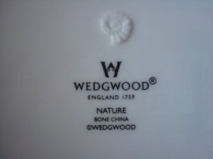 "Modern products outsourced and produced Indonesia will just have ""Wedgwood England"" with no explicit country of origin."