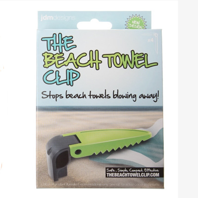 The beach towel clip