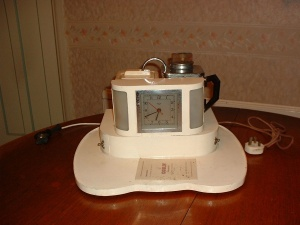 A 1939 Goblin Teasmade D20. Made in England