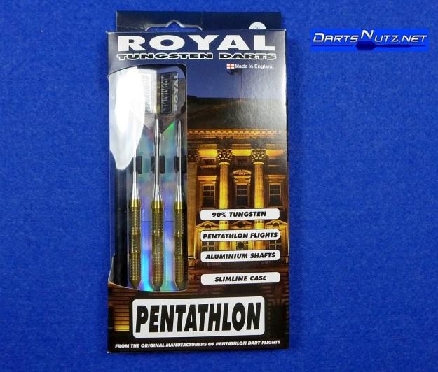Pentathlon Royal 23g darts. Made in England.