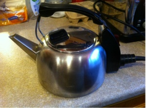 Vintage Russell Hobbs Electric Kettle Model K2S 3. Made in England.