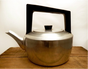 Vintage Traditional Aluminium Stove Top Kettle – Tower Brand - Made in England.