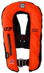 Seasafe Systems Pro-Zip 170N Commercial LifeJacket.  Made in Britain.